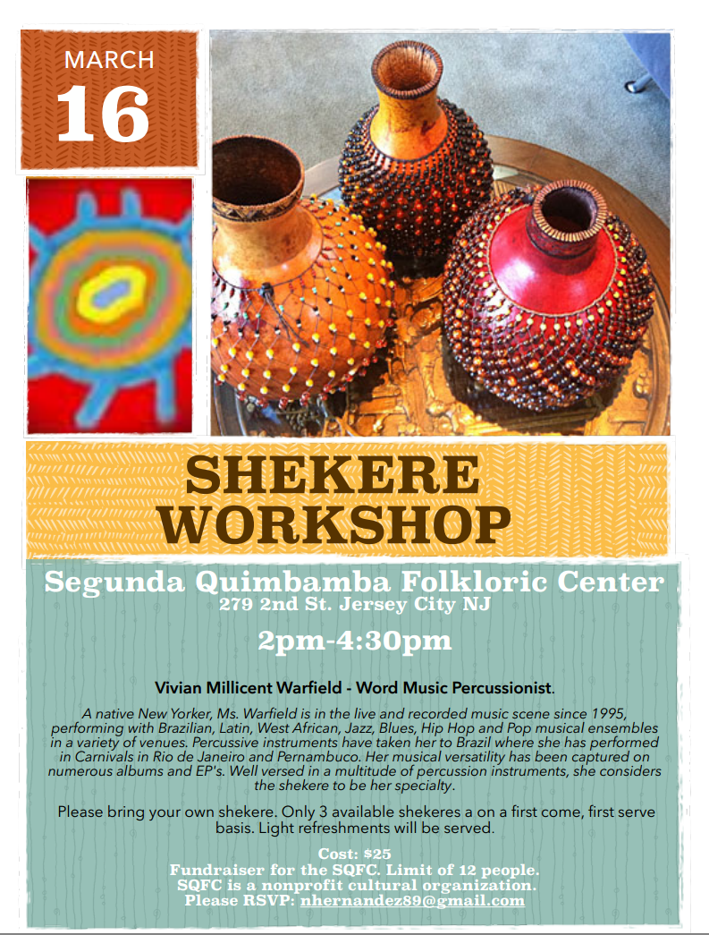 Shekere Workshop